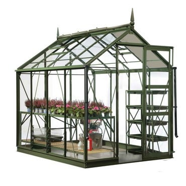 Harrod Superior Greenhouse - Olive Green