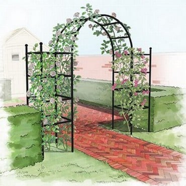 Roman Garden Arch with Pillars-Bespoke Design