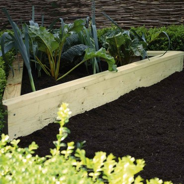 Standard Corner Wooden Raised Beds