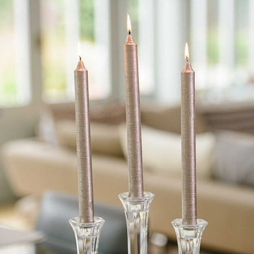 Straight Dinner Candles by Sia (25cm)