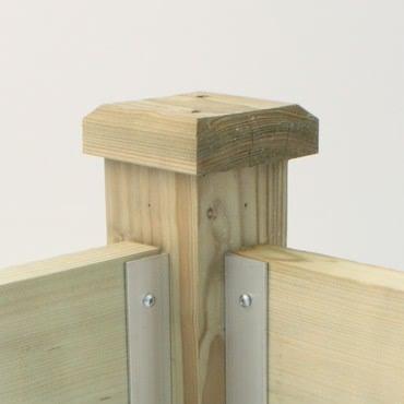 Superior Raised Bed Post Cap