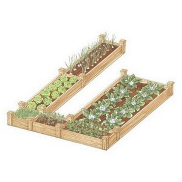 Superior Raised Beds U Shape - Bespoke Design