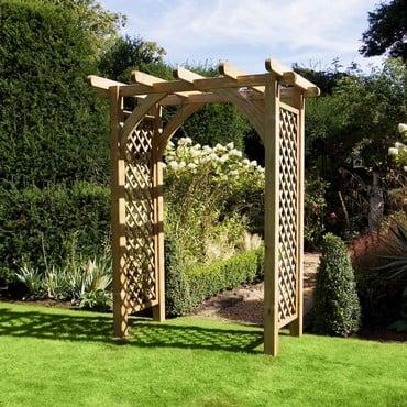 Westcote Large Wooden Garden Arch