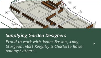 Supplying garden designers