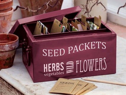 Seed Packet Organiser