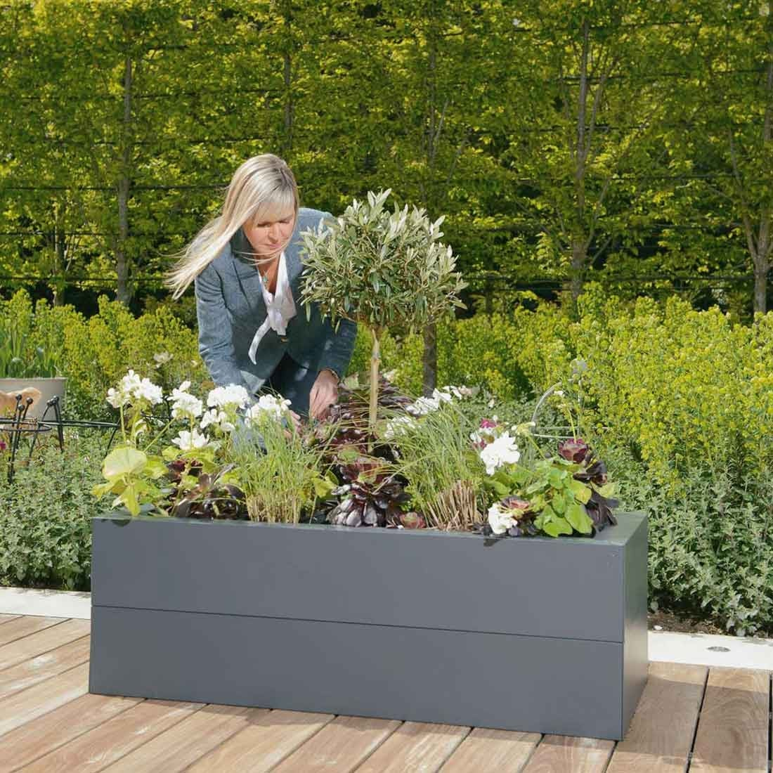 Metal Raised Beds & Planters