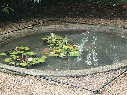 Pond Protection Covers & Netting - Harrod Hoticultural