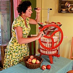 Fruit Press and Fruit Crusher