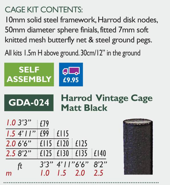 GDA-024 Vintage Cage Black Price Grid 2016