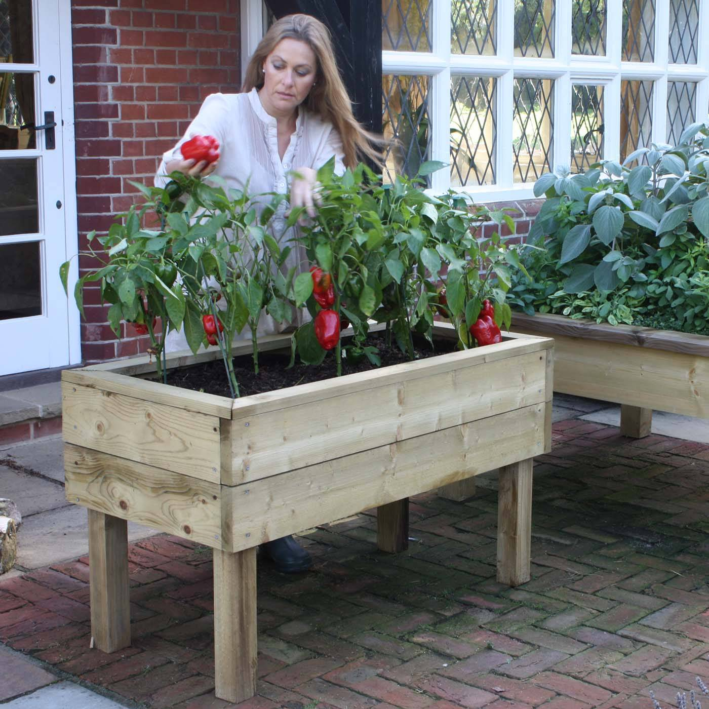 Raised Bed Tables