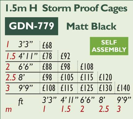 GDN-779 Storm Proof Cages Price Grid 2017