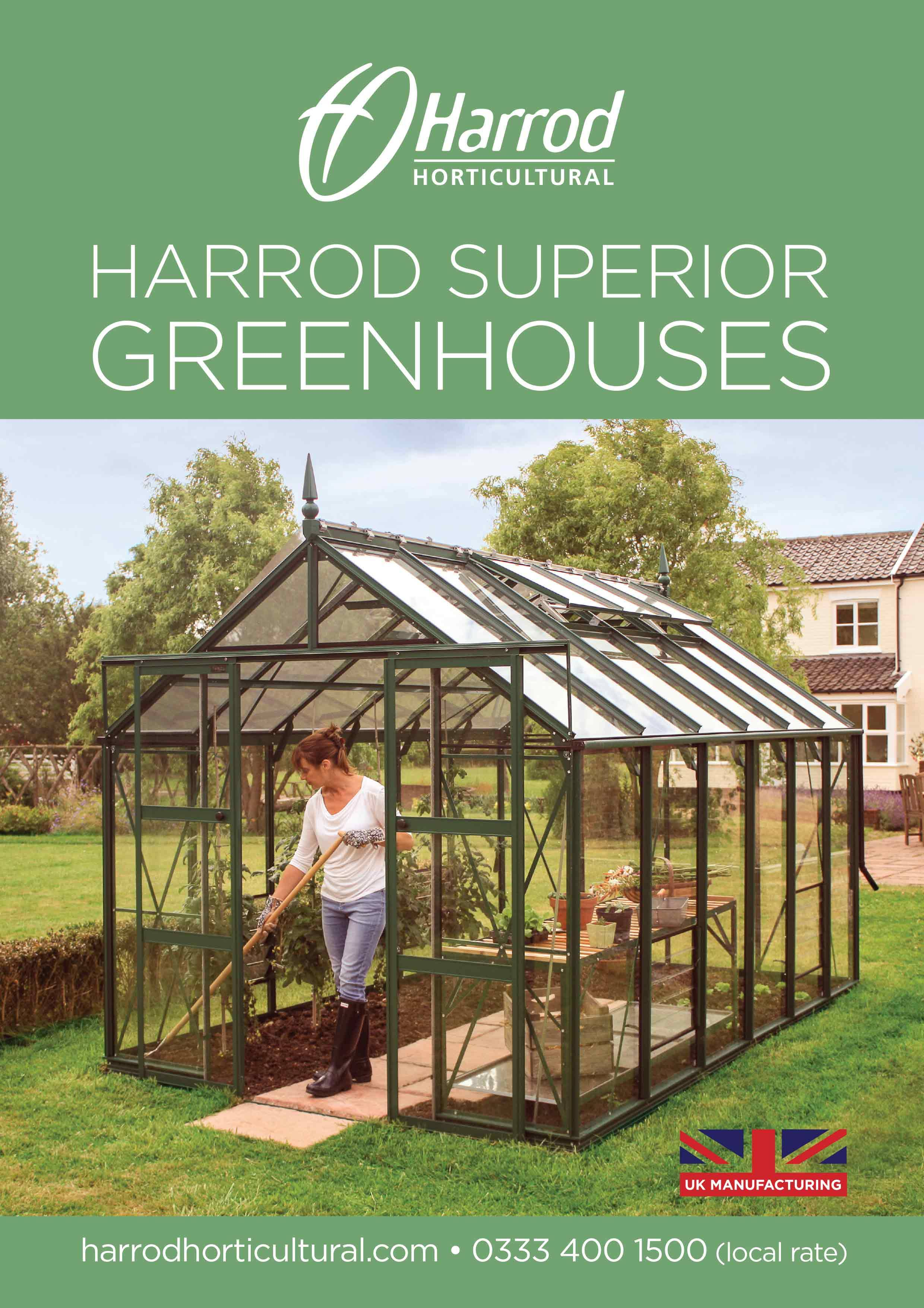 Greenhouse Flip Catalogue Front Cover 2019