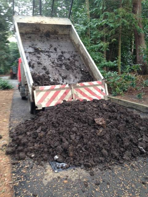 Farmyard manure delivery