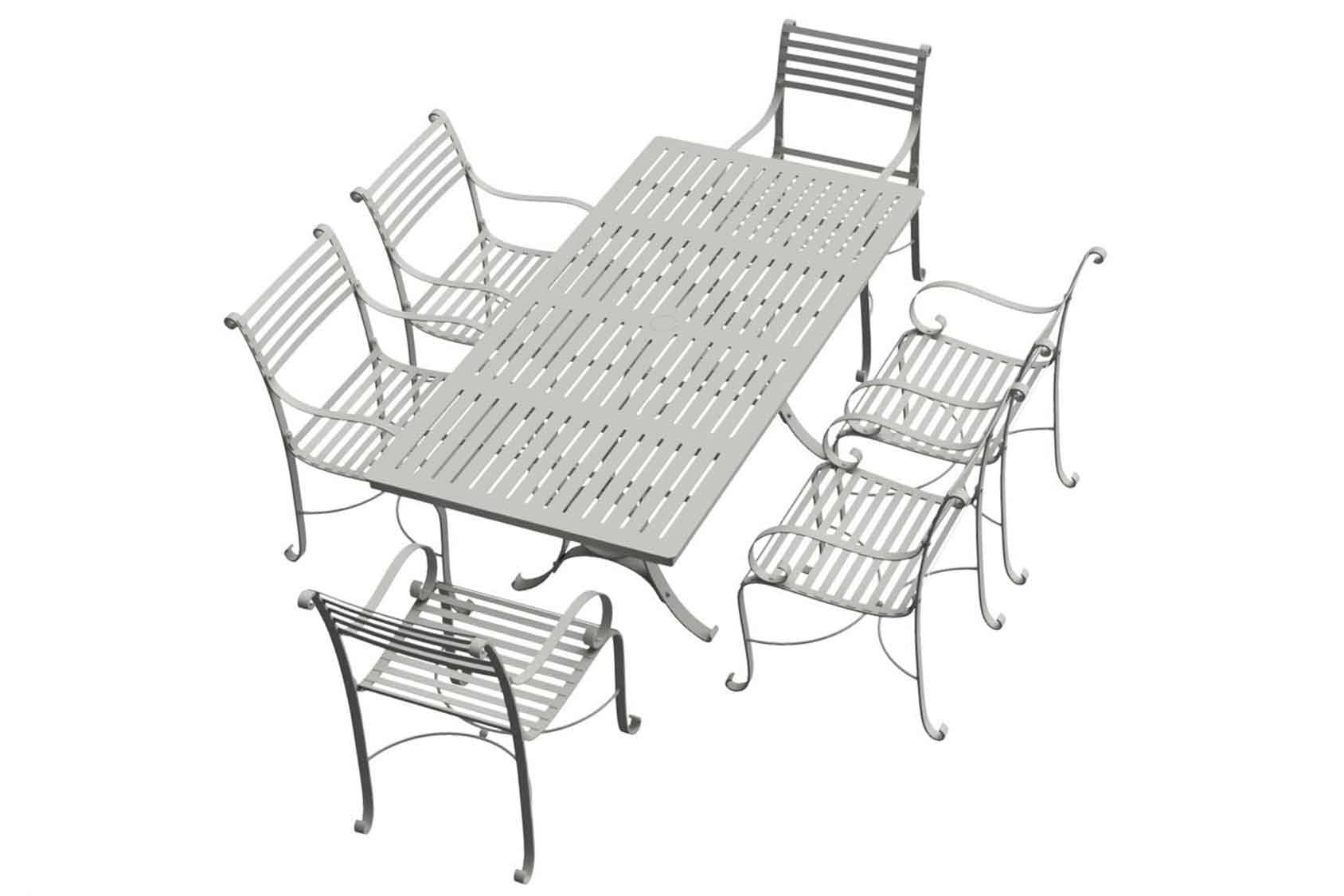 Southwold Rectangle 1.8m Dining Table Sets 6 carvers