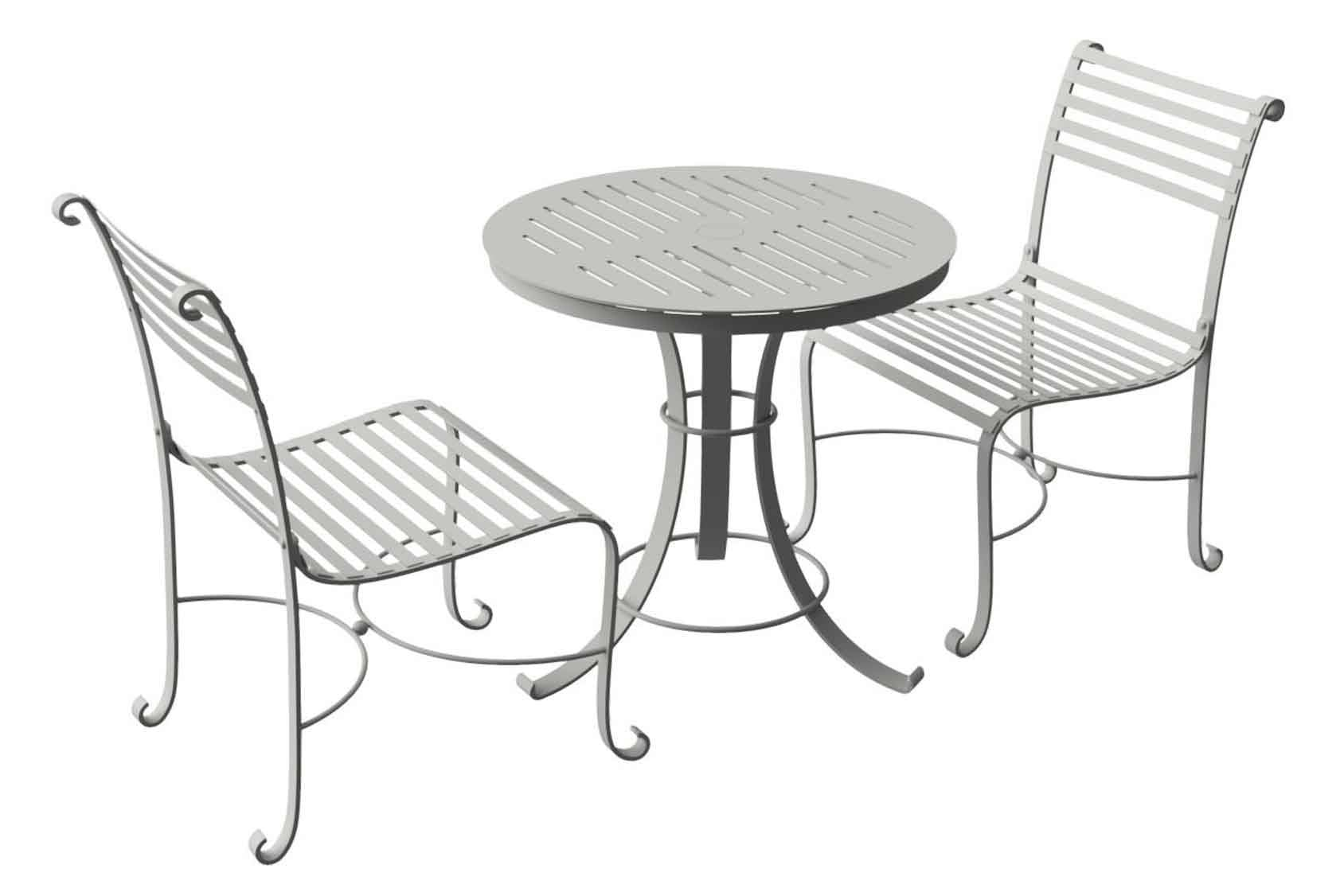 Southwold Round Bistro Table & 2 Side Chairs