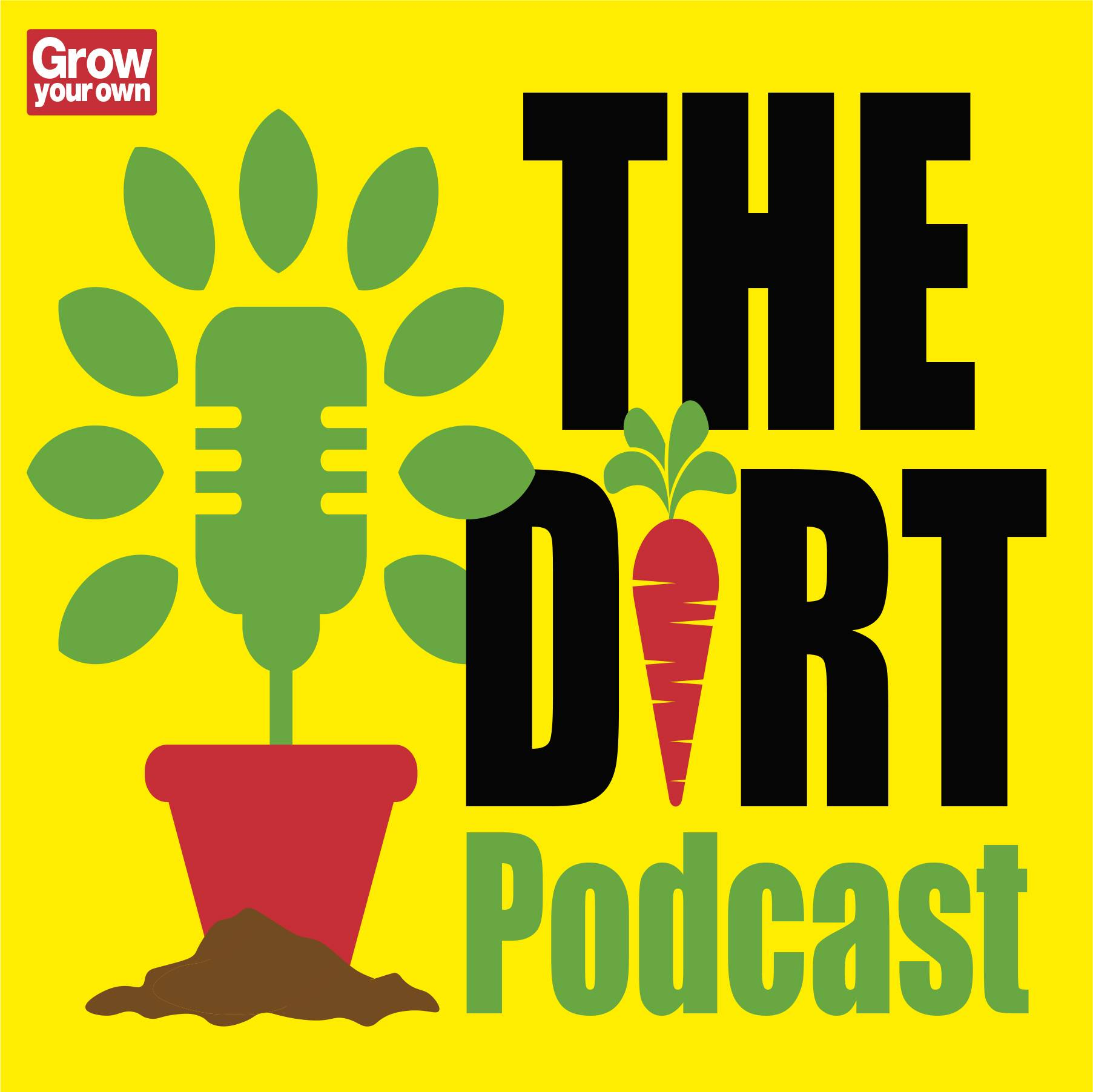 The Dirt Podcast Logo