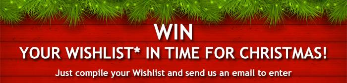 Win Your Wishlist Banner