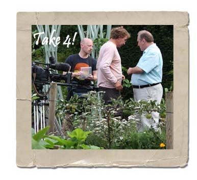 Kitchen Garden Film Crew