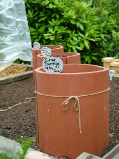 Roof Tile Planters