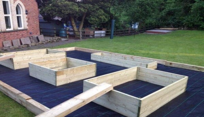 4ft x 4ft, 4ft x 6ft, 2ft x 8ft Standard Raised Beds, Mrs Thomson, Powys