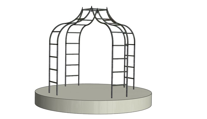Ogee Ladder Gazebo Design