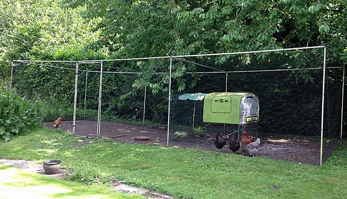 3m x 9m Aluminium Poultry Cage, Mrs Oakley - Cheshire