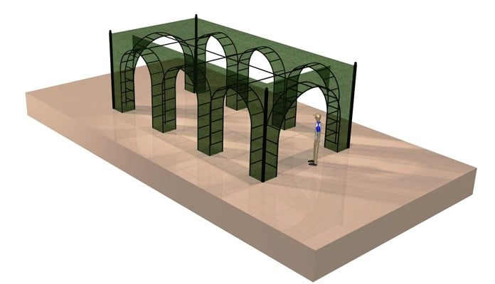 Example Project - Roman Colonnade