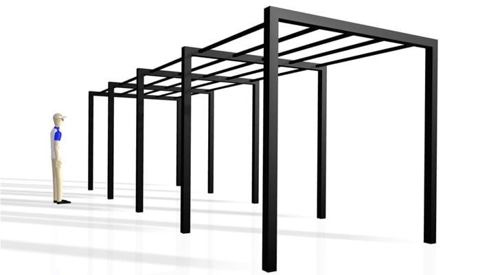Contemporary Pergola Design