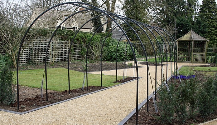 Roman Arches Linked for Apples, Kate Bradley - Kate Bradley Gardens