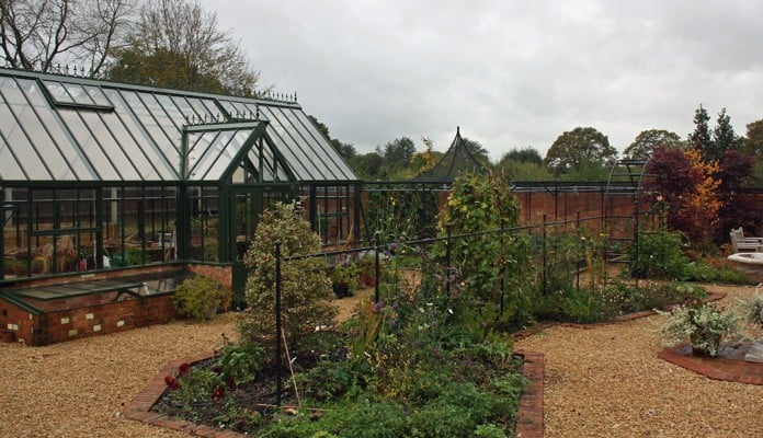 Fruit Cage Steel Peak for Brassicas and Arch Fence System 2