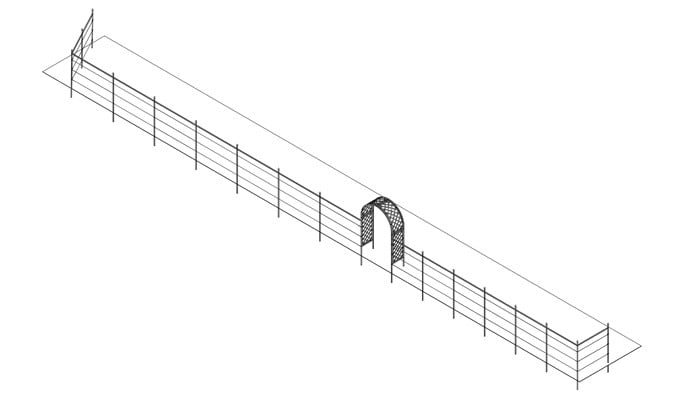 Arch Fence Systems Design Gallery
