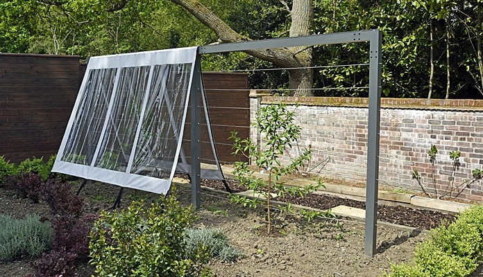 Contemporary Fruit Tree Frame with covers removing