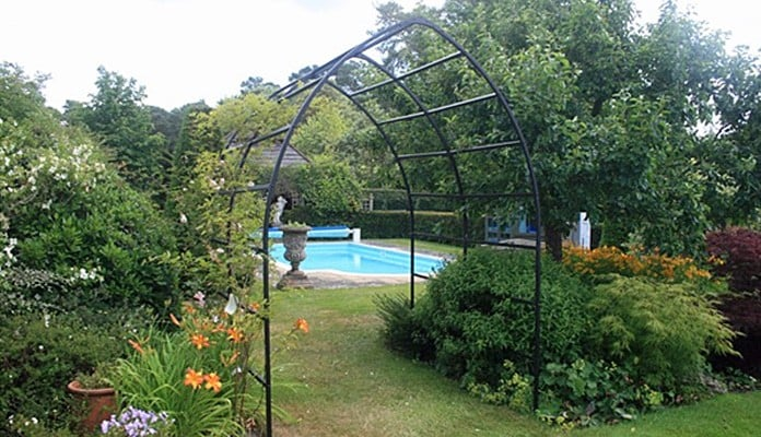 2m W x 2.08m L Gothic Pergola, Mr Brown - Surrey