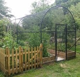 Fruit Cage Steel Roman Arch 2
