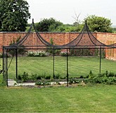 Fruit Cages Steel Dome and Peak