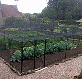 Fruit Cage Steel Peaks with Cut Out