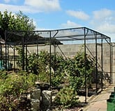 Fruit Cage Steel Angled Sloped
