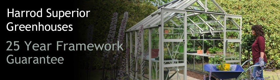 UK Made, High Specification Greenhouses