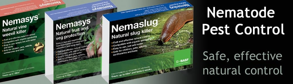 Biological pest control for slugs, weevils & more...