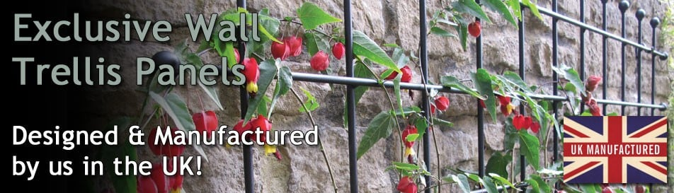 High Quality Metal Wall Trellis