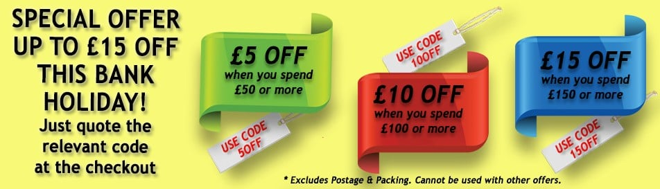 Grab a Great Deal this Bank Holiday!