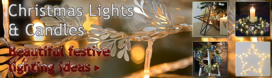 LED String Lights, Garlands, Candles & Lots More...
