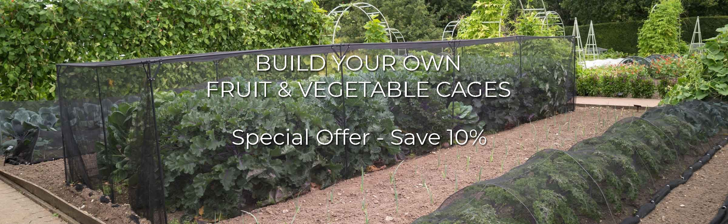 Save 10% on Build Your Own Cages