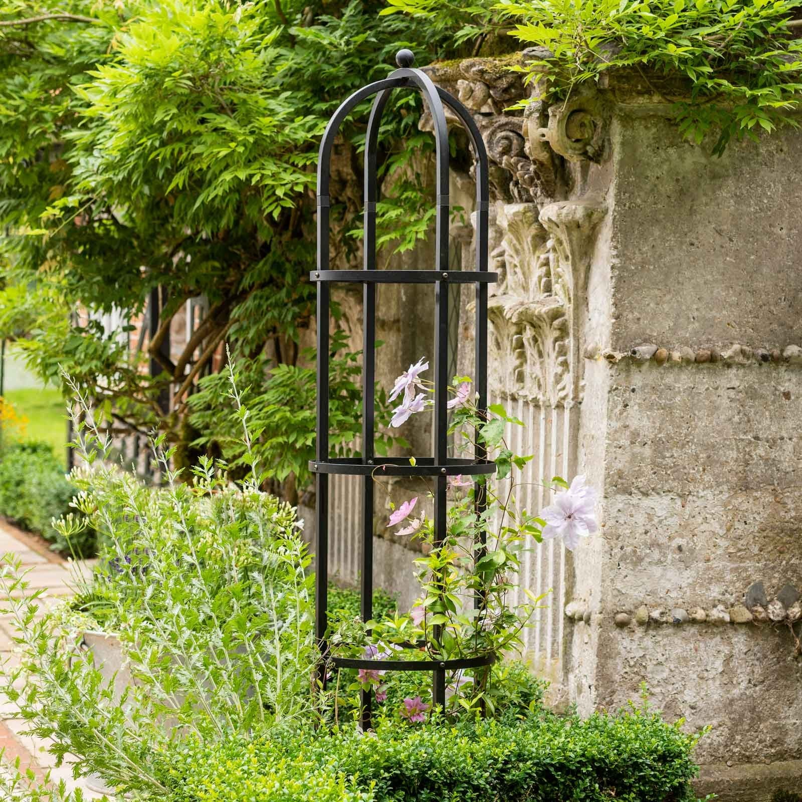 Designed In-house And Manufactured To The Same Exacting Standards As Our Garden Arch, Pergola And Steel Fruit Cage Range, These Stunning Matt Black Po
