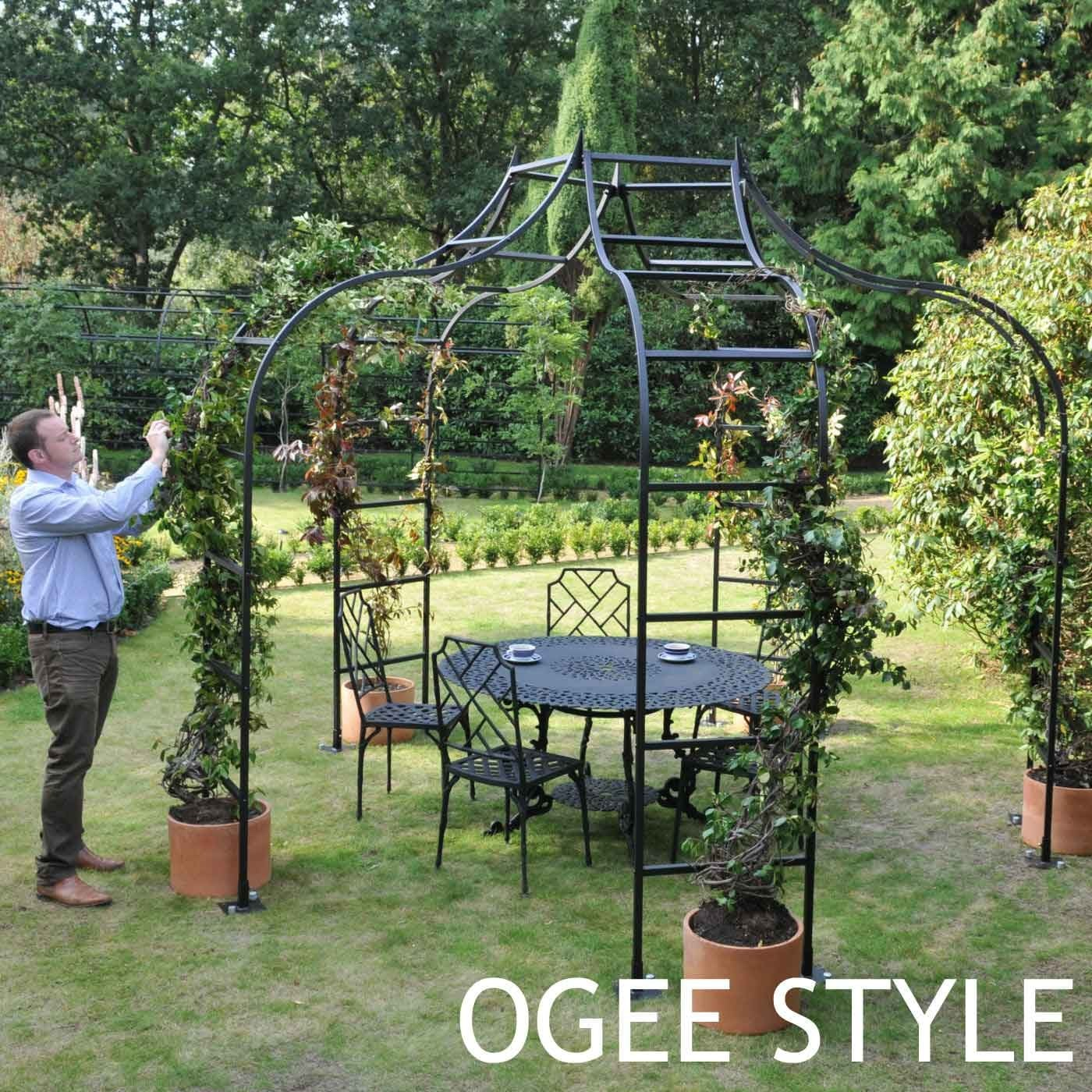 Altars Canopies Arbors Arches: Rose Arch Gazebos By Harrod Horticultural