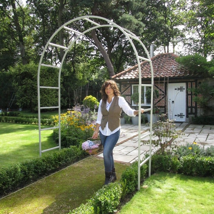 Delicieux Harrod Roman Garden Arch   Silk Grey