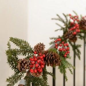 Alpina Pine Garland By Floral Silk