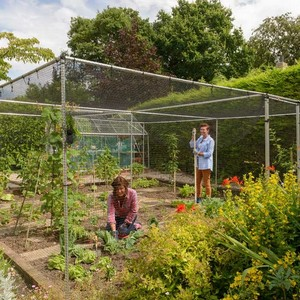 The Framework Of Our Aluminium Garden Cages Is Manufactured From 25mm Diameter, 1. 6mm Thick Aluminium Section Which Is Where Our Claim To Be The Stro