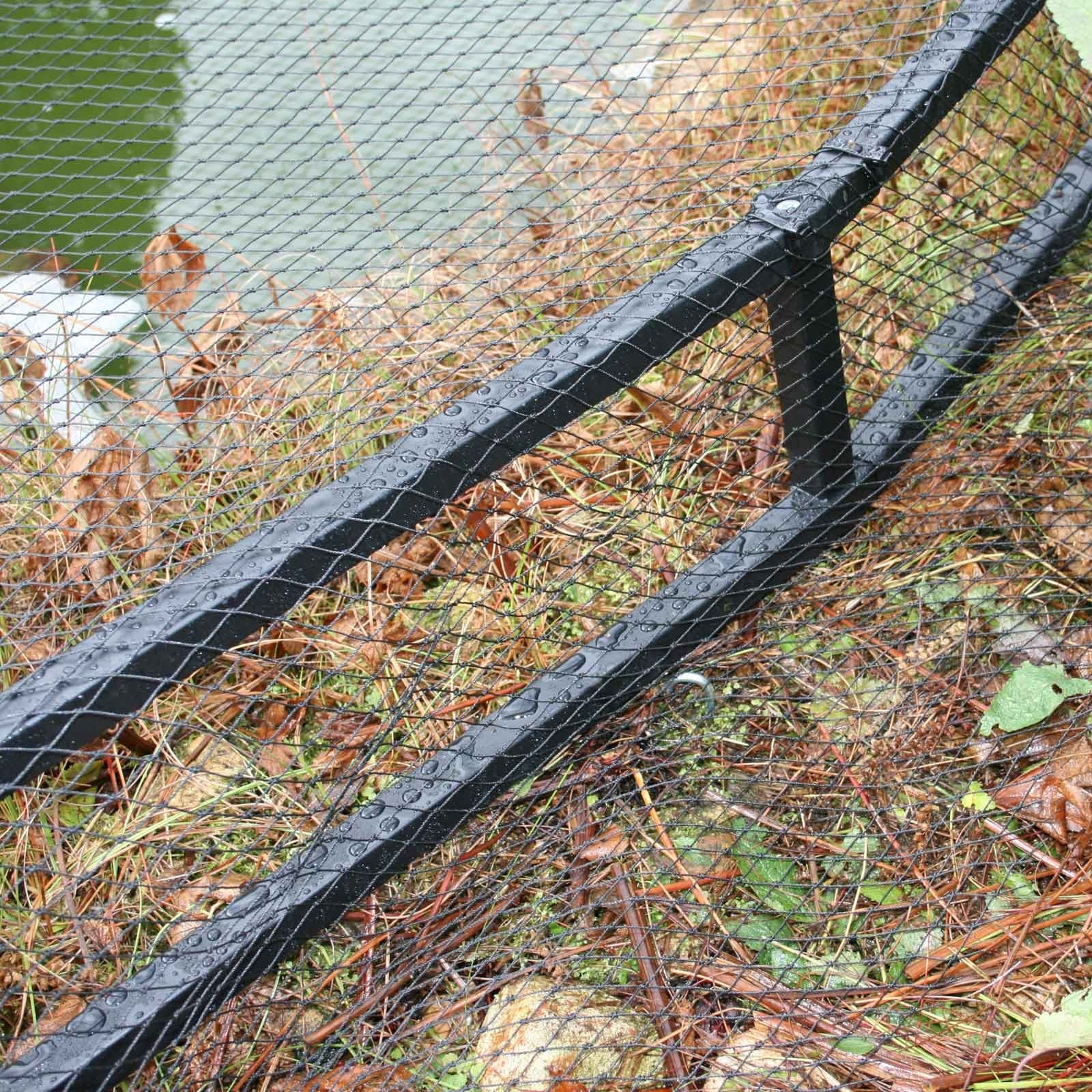 Raised Steel Pond Cover Large Irregular