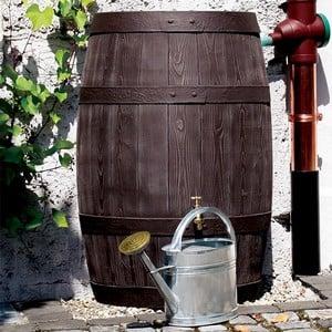 Extra Large 500 Litre Brown Oak Effect Water Butt